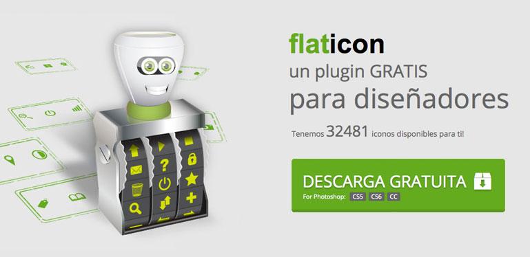 Flaticon, iconos vectoriales gratis